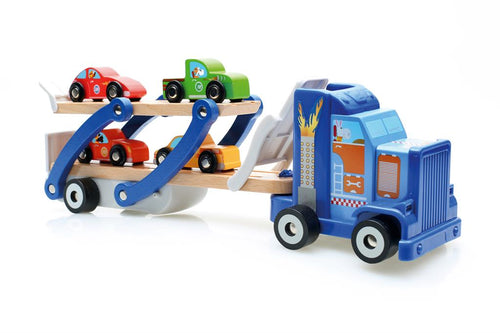Car Transporter (4 cars plus stickers) (4416400523347)