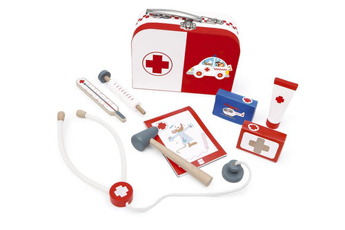 Doctor's Suitcase with 6 tools (4416405438547)