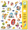Mermaid Stickers (4466115510355)