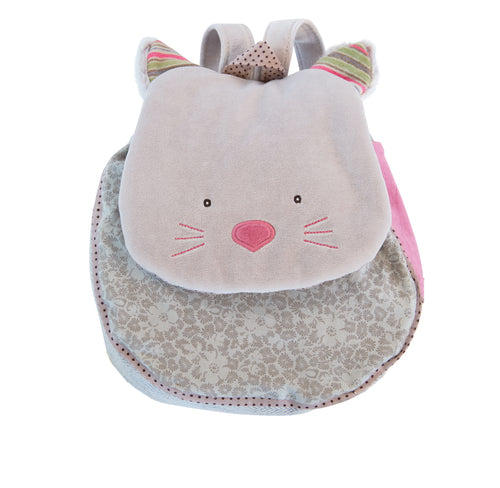 Les Pachats Backpack Cat Grey (4674846294099)