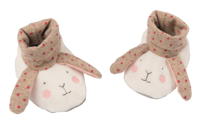 Les Petits Dodos Baby Slippers Rabbit (4680932753491)