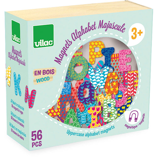 Magnets 56 Pieces - Alphabet (4681503375443)