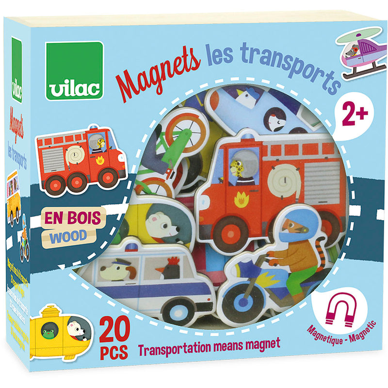 Magnets 20 Pieces - Transport (4681497182291)