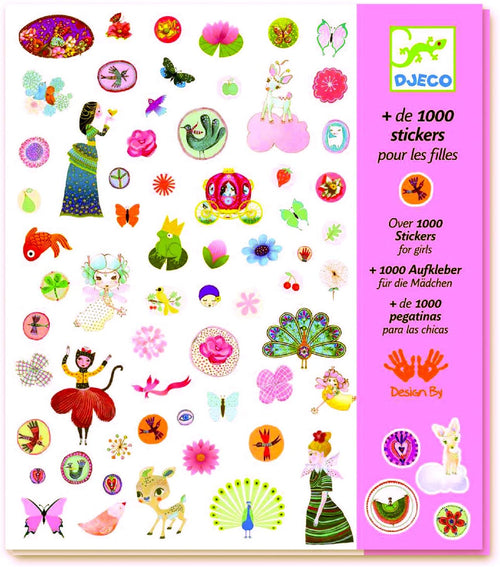 Stickers for Girls (4467262095443)