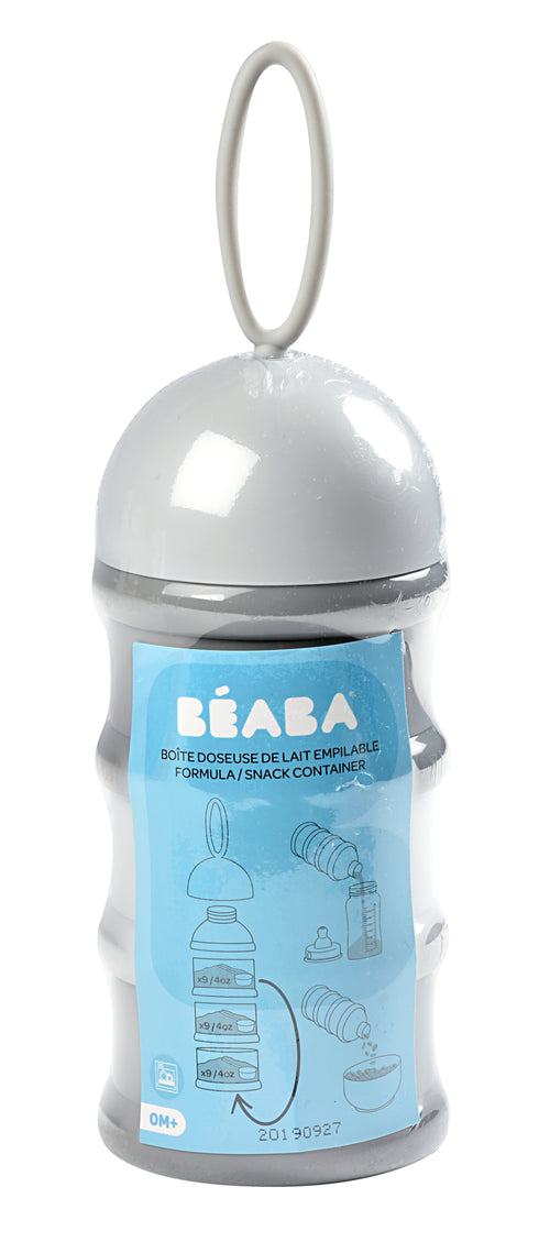 Stacked Formula Milk Container 270 ml - Light Blue (4725951299667)