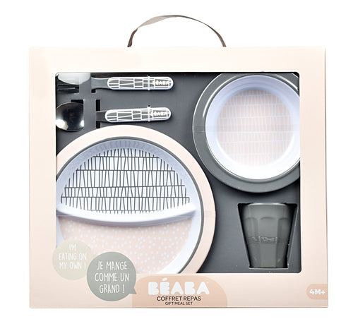 Gift Meal Set - Pink Grid (4725663400019)