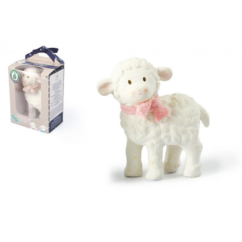 Lila Lamb Rubber Toy - Pink (4415278317651)