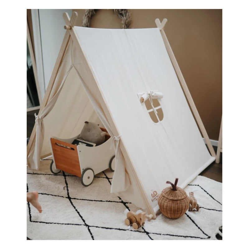 Tent - Natural Organic Cotton & Sustainable Pine Wood (4698682818643)