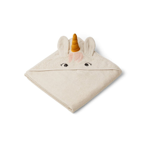 Augusta Hooded Towel - Unicorn Sandy (4473248710739)
