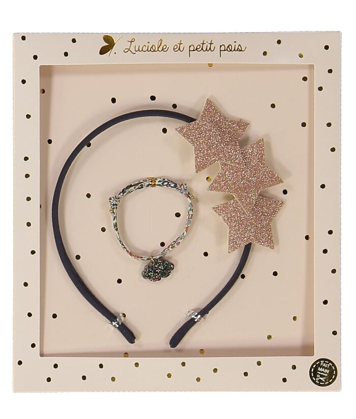 Hair Band & Bracelet Set Star (3430435618899)