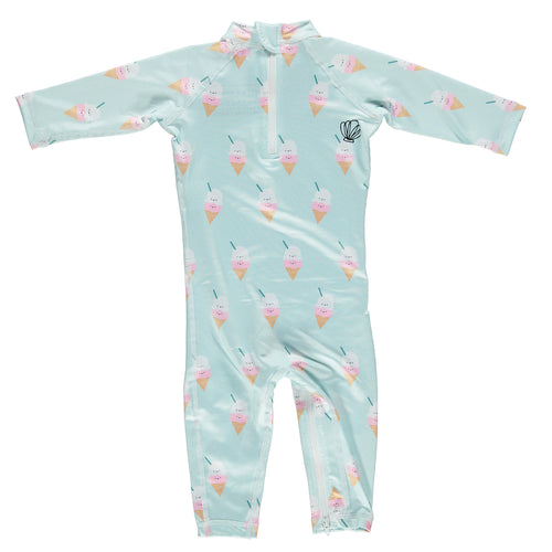 Swimwear - Aloha Ice-Cream (Baby Suit) (4412148842579)