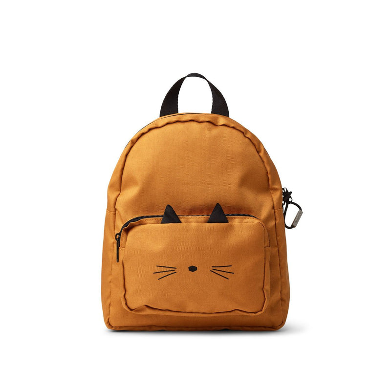 Allan Backpack - Cat Mustard (4644607328339)