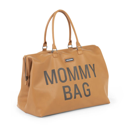 Mommy Bag Big - Leatherlook Brown (4680812167251)