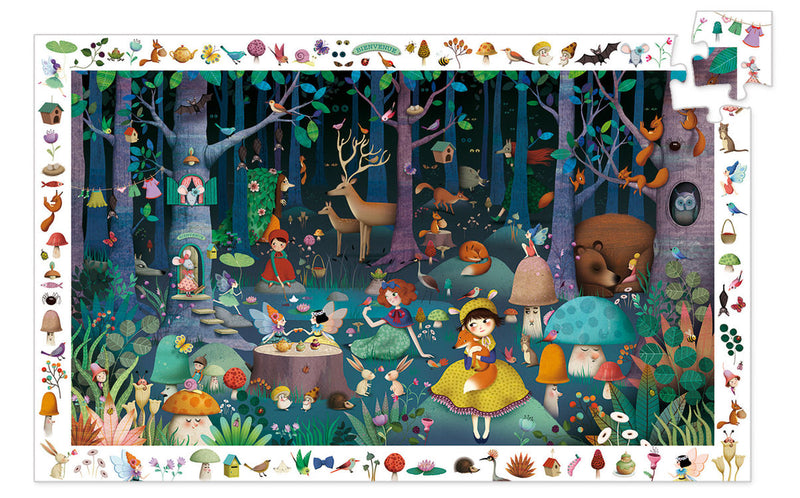 Observation Puzzle Enchanted Forest (4466723422291)