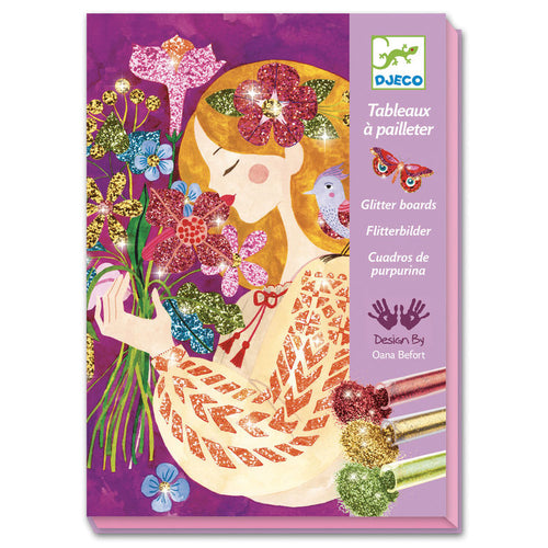 The Scent Of Flowers - Glitter Board Art Kit (4467309248595)