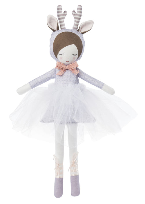 NEW! Deer Ballerina Doll