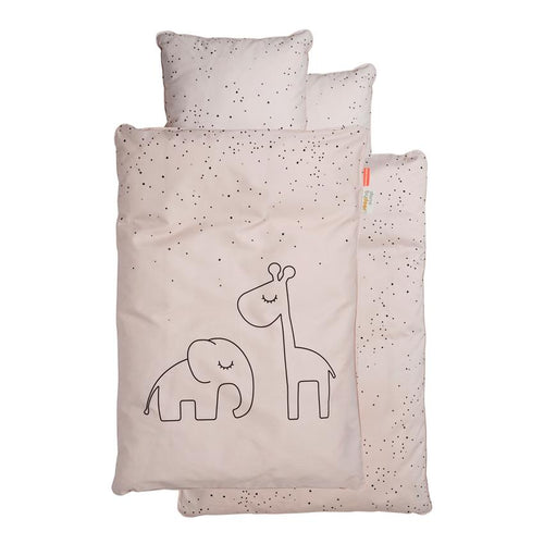 Bedlinen Baby Dreamy Dots - Powder (4510457790547)