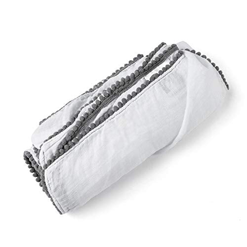 Luxe Bamboo Swaddles - Grey (4604240101459)