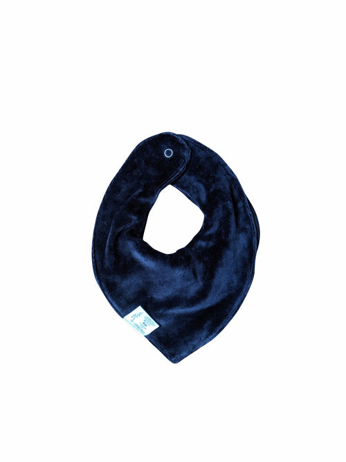 NEW! Reversible Bandana Bib - Blue Nights