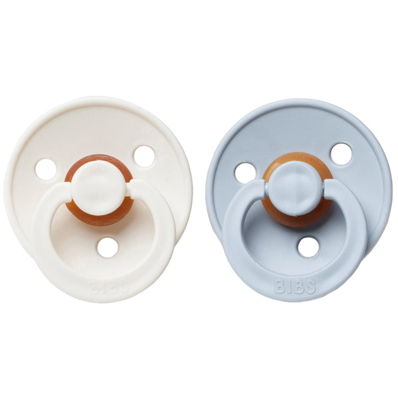 Bibs Pacifier (2pcs) - Ivory/Could (4631800610899)