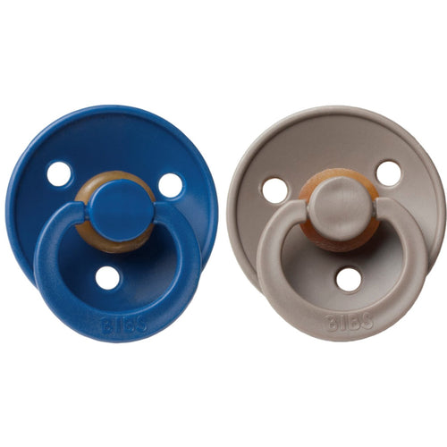 Bibs Pacifier (2pcs) - Midnight/Dark Oak (4631820861523)