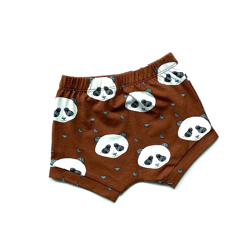 Panda Half Length Shorts - Rusty (4414839226451)