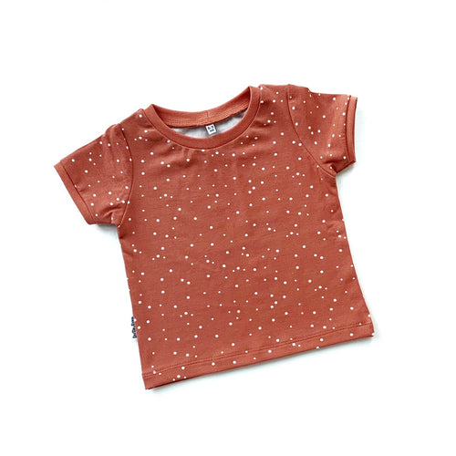 Spots T-Shirt - Ginger (4414836244563)