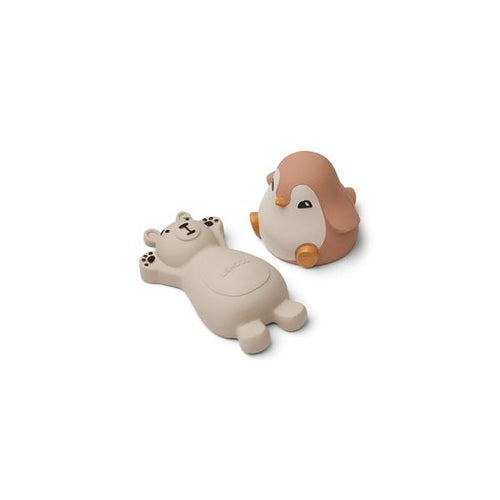 Knud Bath Toys - 2 pack - Rose mix (4696314314835)
