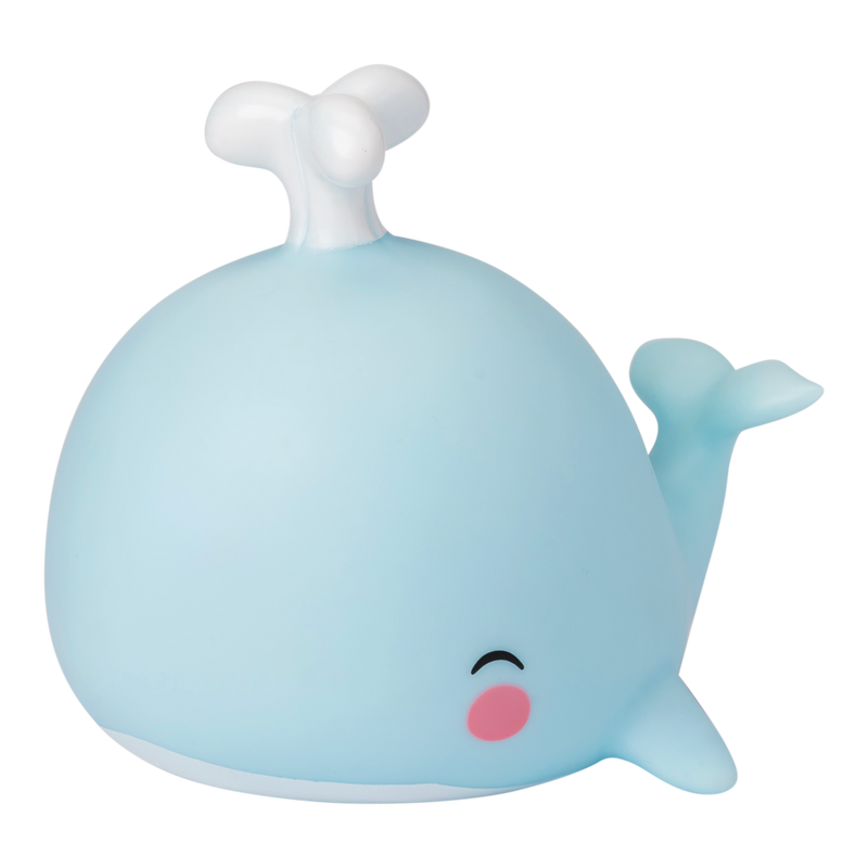 NEW! Mini Whale Light Blue