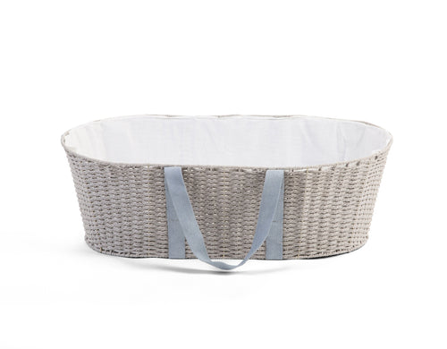 Moses Basket + Mattress - Grey (4680828551251)