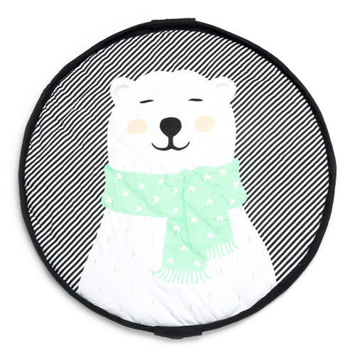 Playmat & Storage Bag - Polar Bear (4645597151315)