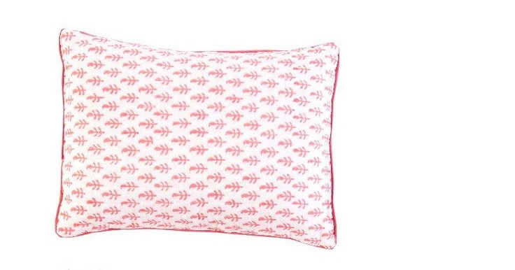 Organic Cotton Pillow - Pink City (4604449980499)