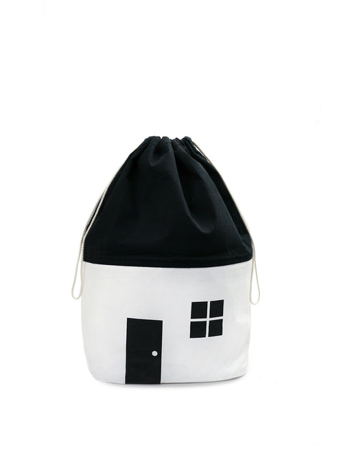 NEW! White Cotton House Storage Bag-Medium