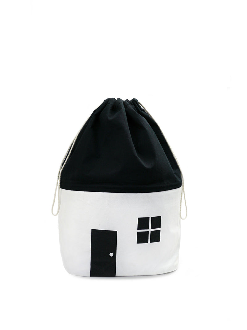 NEW! White Cotton House Storage Bag-Medium (2352141533267)