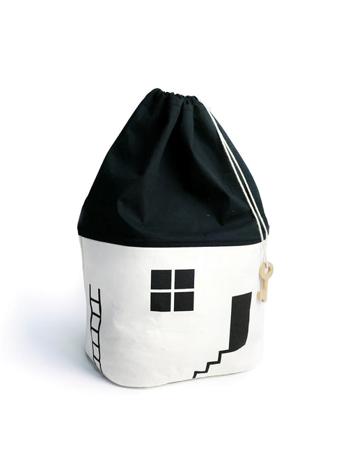 NEW! White Cotton House Storage Bag-Large