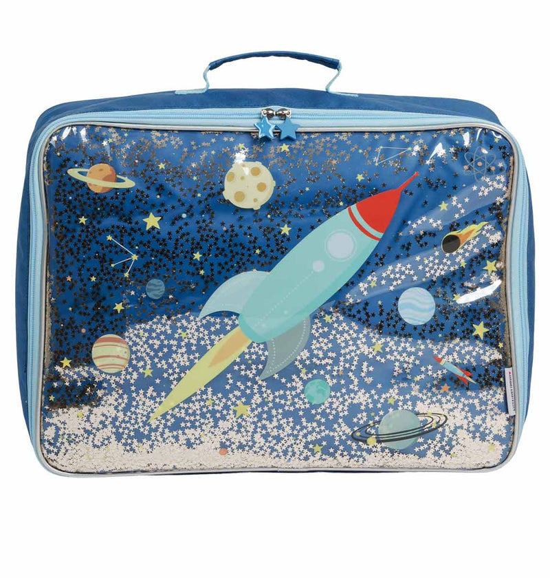 Suitcase - Glitter Space (4379513847891)