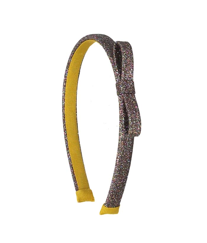 Glitter Hairband Bronze