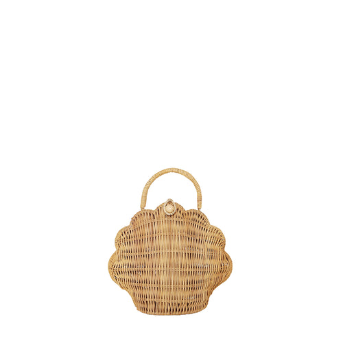 Shell Purse - Straw (4603852947539)
