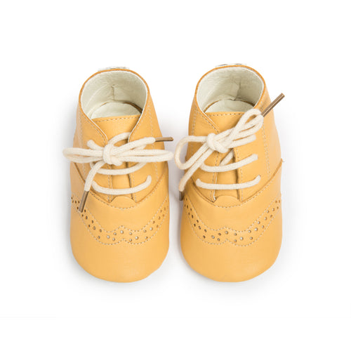Cley Brogues - Yellow (4358735757395)