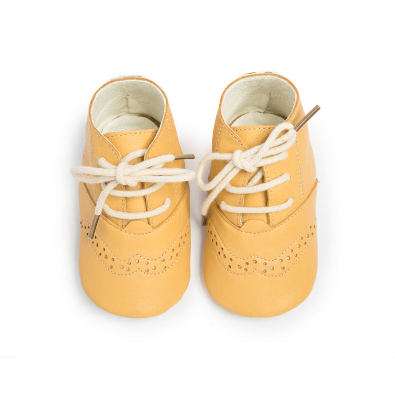 Cley Brogues - Yellow