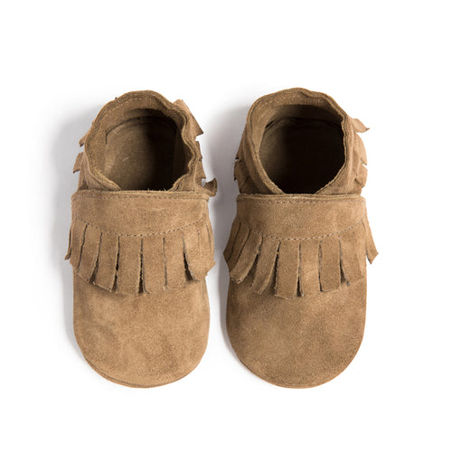 Ole Miss Moccasin - Brown