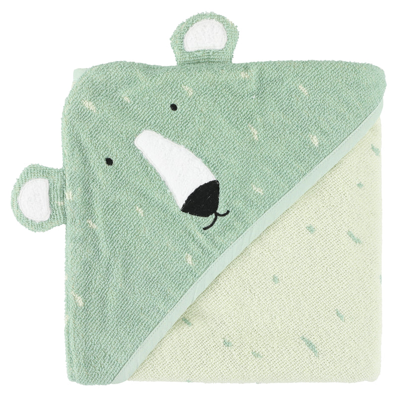 Hooded Towel - Mr Polar Bear (75 x 75cm) (4413019881555)