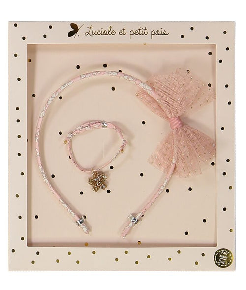 Hair Band & Bracelet Set Tutu (3478737715283)