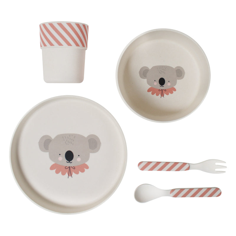 Bamboo Eco Dinner Set - Koala (4681824370771)