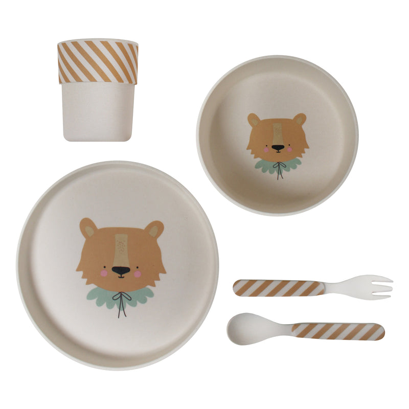 Bamboo Eco Dinner Set - Lion (4681824731219)