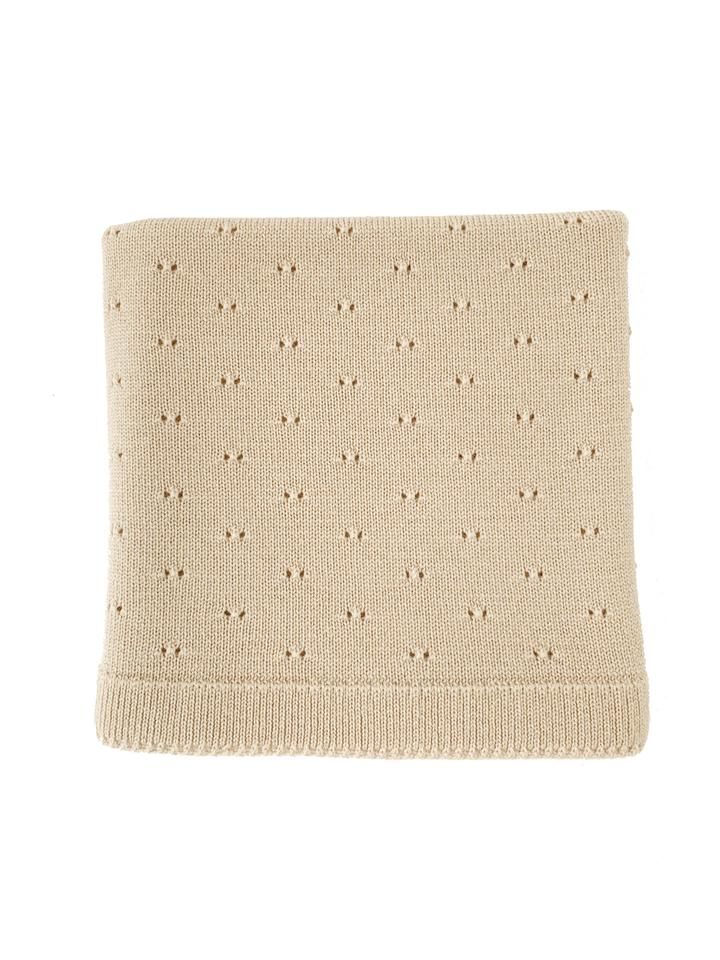 NEW! Bibi Blanket - Oat (4164222910547)