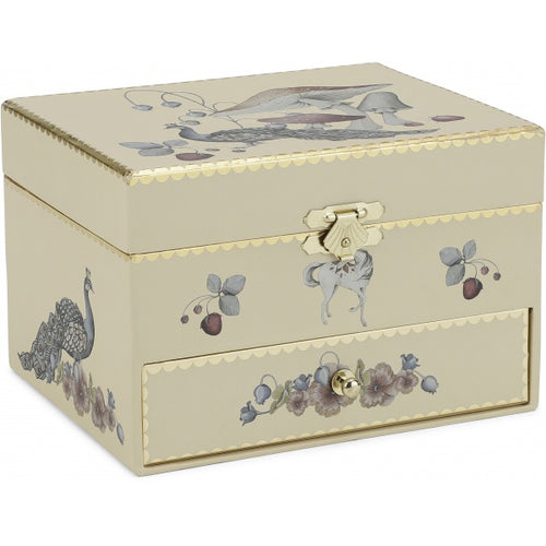 Children's Treasure Box - Cream
