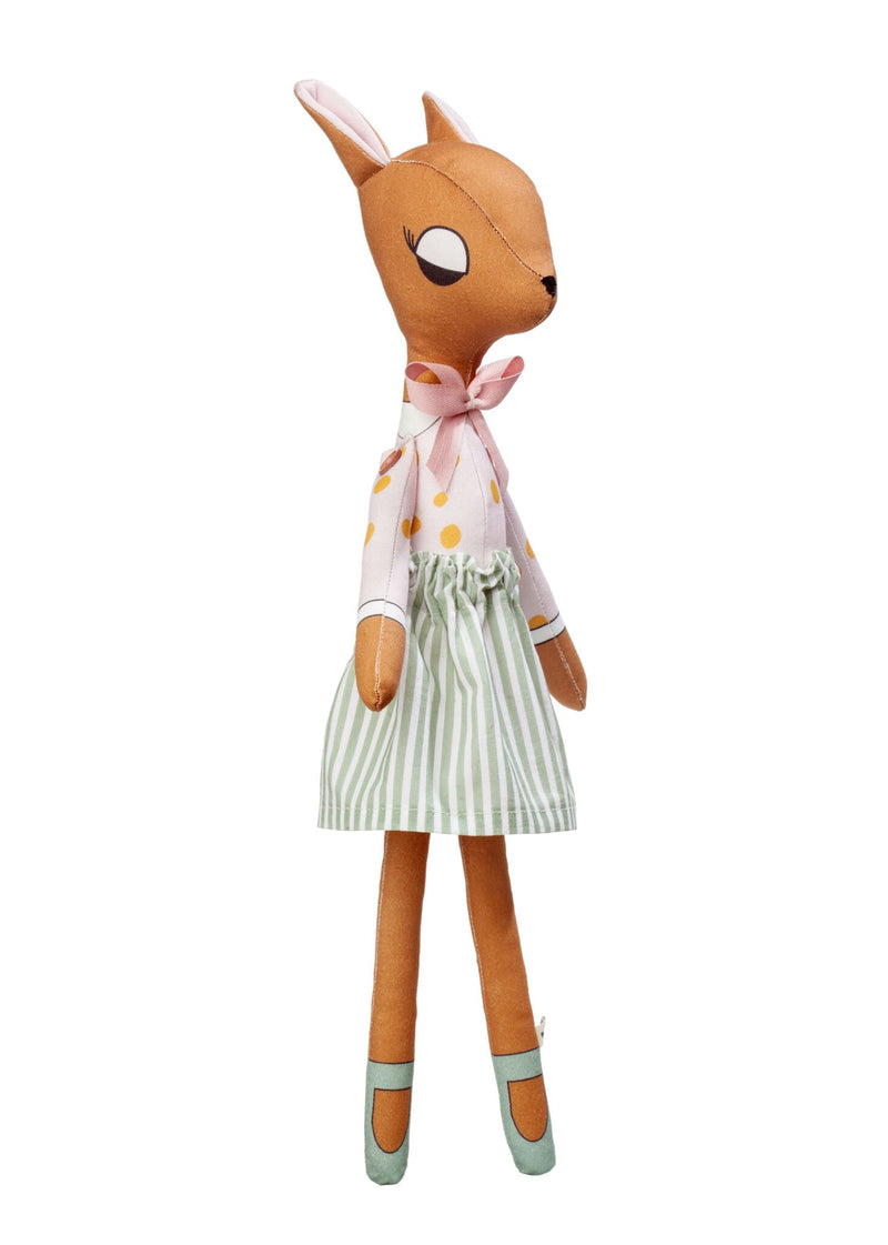 NEW! Deer Lady Doll