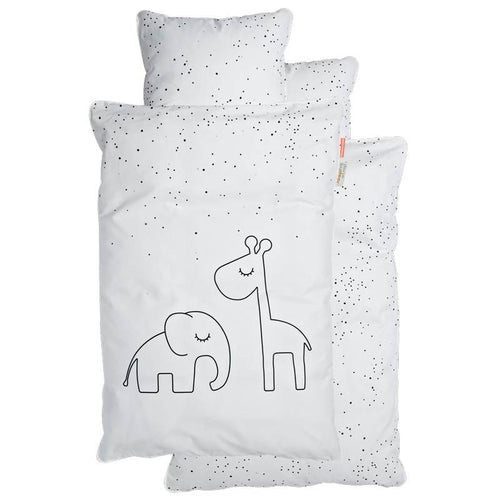 Bedlinen Junior Dreamy Dots - White (4510467719251)