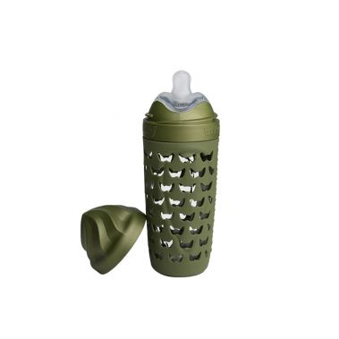 Eco Baby Bottle - 320ml / 11oz - Forest Green (4369220862035)
